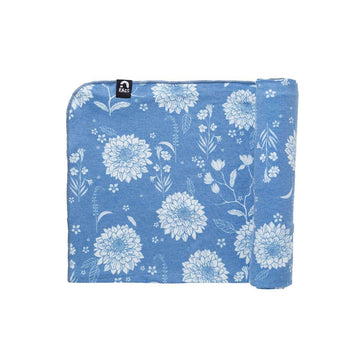 Baby Swaddle - 'Chrysanthemum Floral' - Single Pack