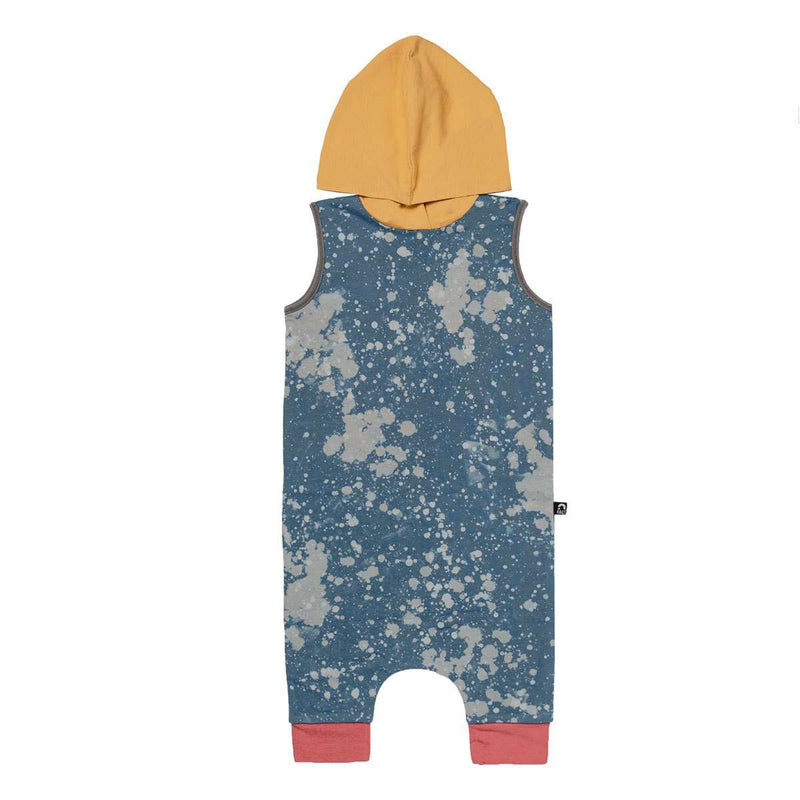 Tank Hooded Capri Rag - 'Tie Dye' - Autism Awareness