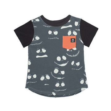 Kid's Pocket Tee Shirt - 'Jack Skellington ' - Disney Collection from RAGS