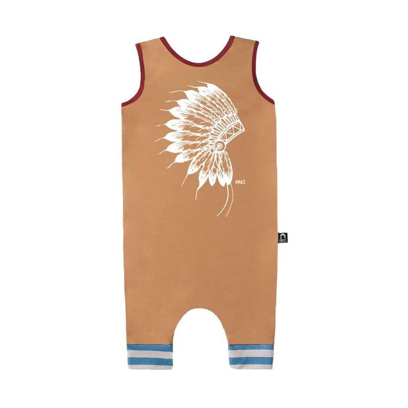 Tank Capri Rag - 'Native - Tan