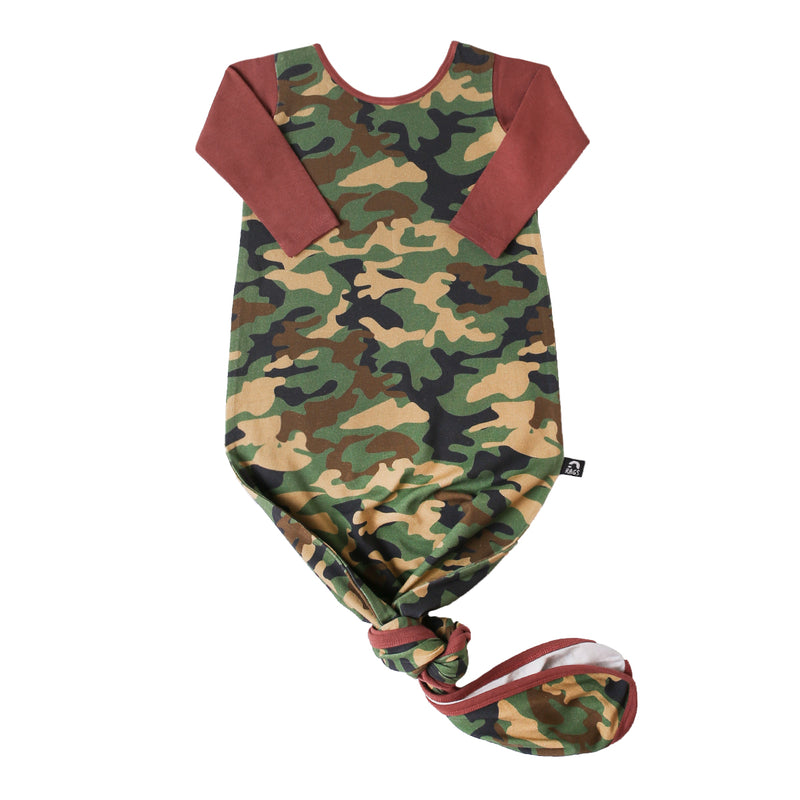 Baby Pouch - 'Camo' - Army Green