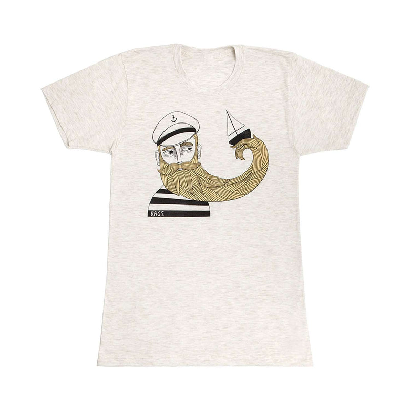 Adult Tee Shirt - 'The Captain'