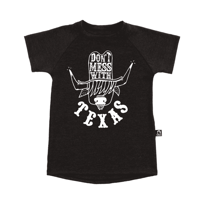 Kid's Tee Shirt  - 'Don't Mess with Texas'