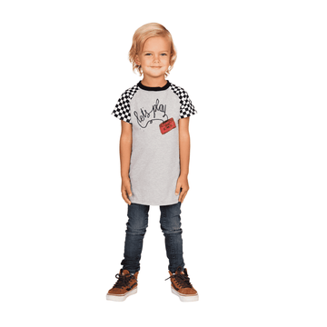Kids Raglan Tee Shirt  - 'Let's Play'
