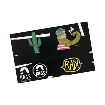 RAGS 4 Pin Set- 'Classic'