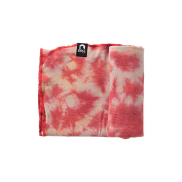 Baby Swaddle - 'Cranberry Tie Dye' - Single Pack