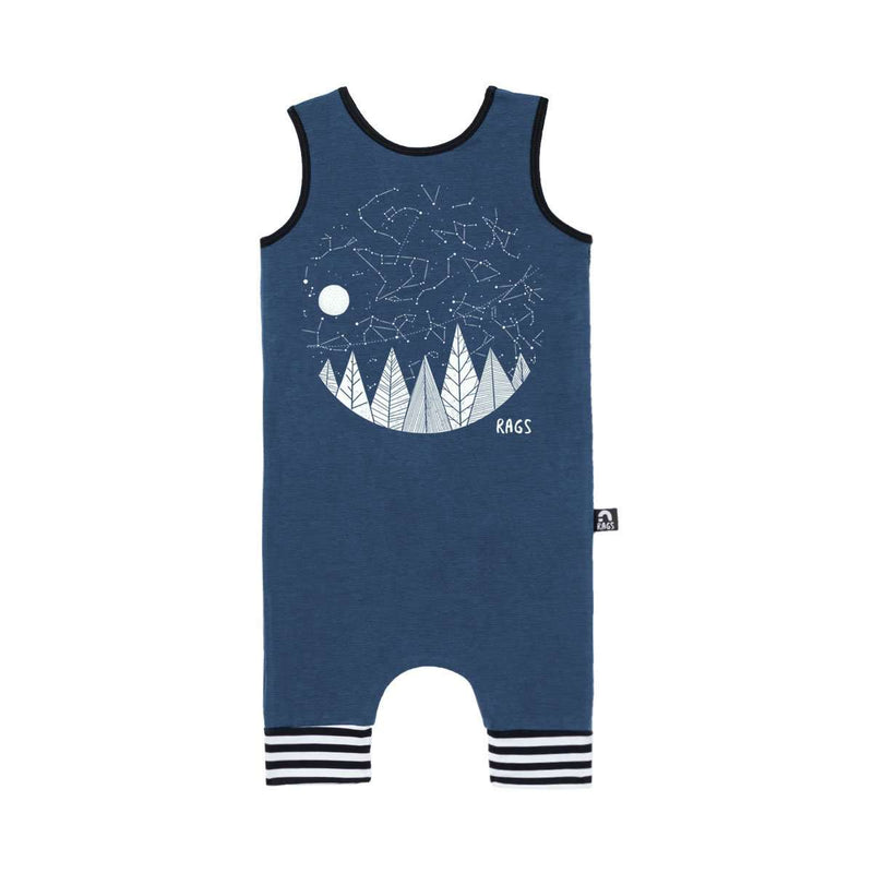 Tank Capri Rag - 'Starry Night' - Ensign Blue