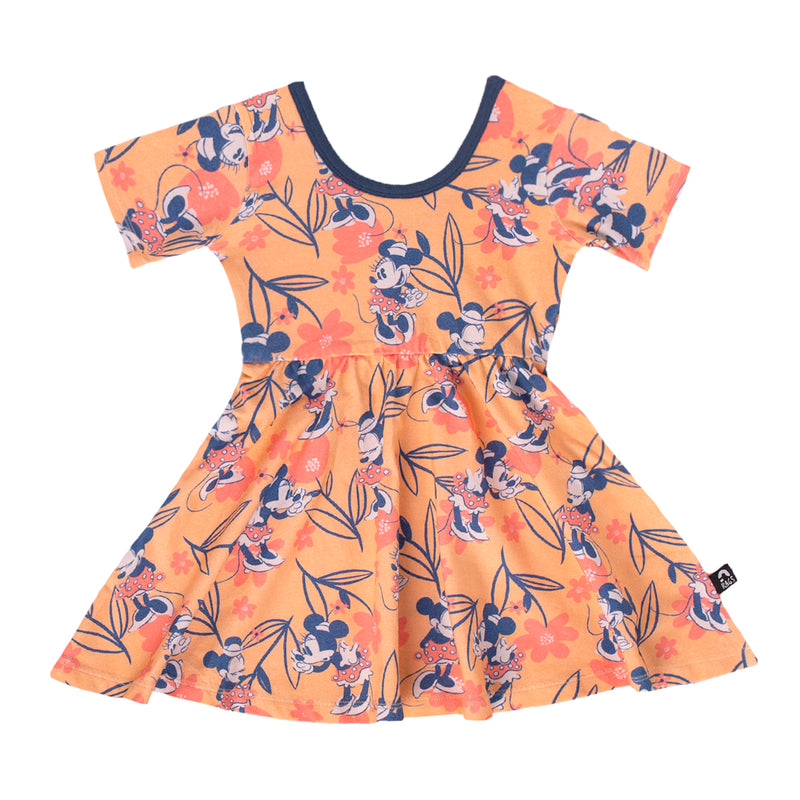 Short Sleeve Swing Dress - 'Minnie Spring Floral' - Disney Collection from RAGS
