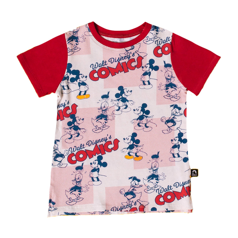 Short Sleeve Tee - 'Walt Disney's Comics' - Disney Collection from RAGS