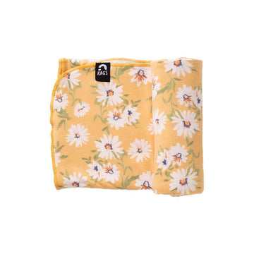 Baby Swaddle - 'Daisy Floral' - Single Pack
