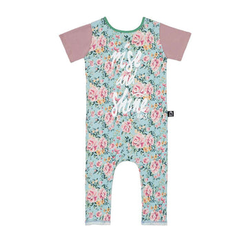 Short Sleeve Rag - 'Rise and Shine' - Nancy Floral