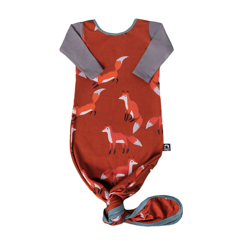 Baby Pouch - 'Foxes' - Picante