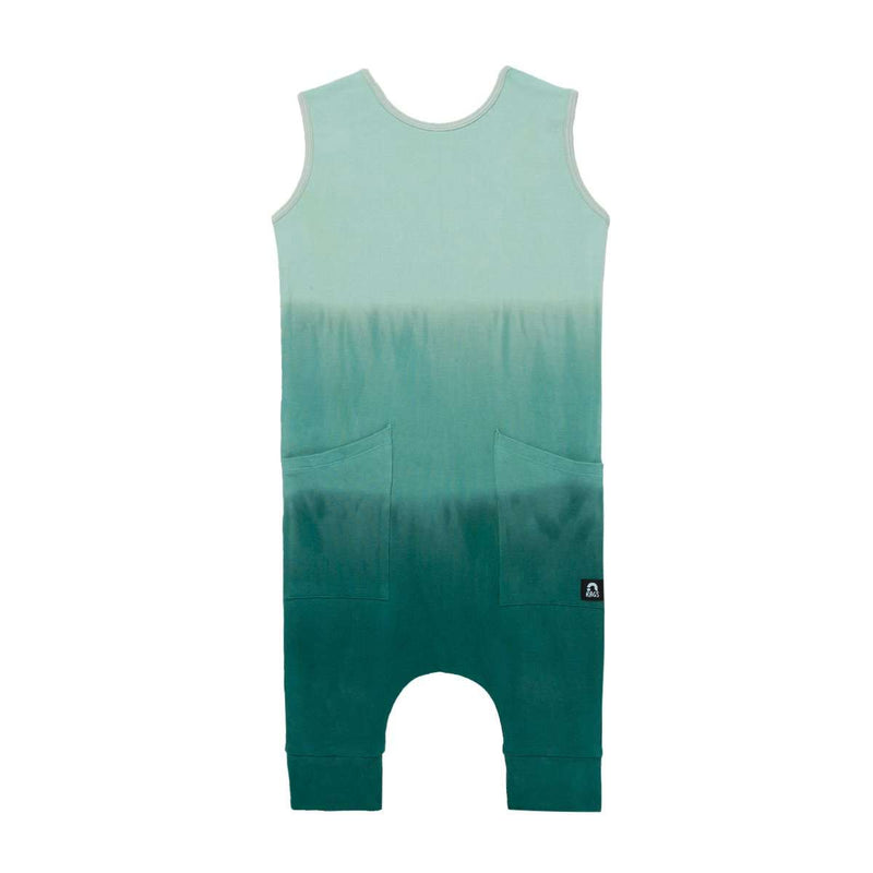 Tank Capri Hip Pocket Rag - 'Green Ombre' - Easter