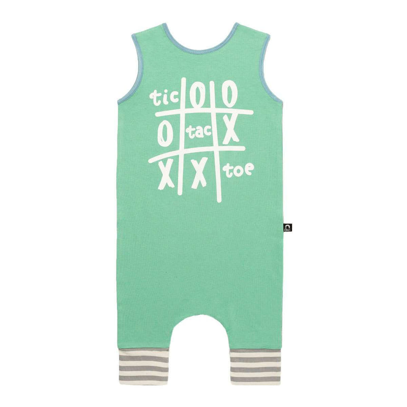 Tank Capri Rag - 'Tic Tac Toe' - Dusty Jade Green