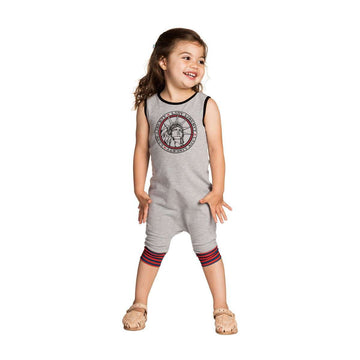 Tank Capri Rag - 'Lady Liberty' - Heather Grey