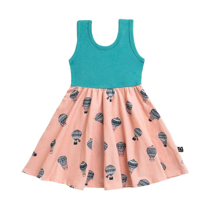 Tank Swing Dress - 'Hot Air Balloons' - Latigo Bay