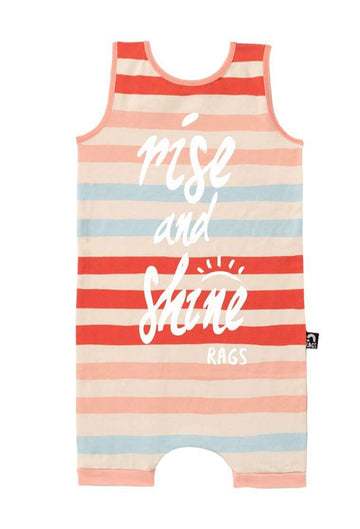Tank Short Rag - 'Beach Towel Stripe'