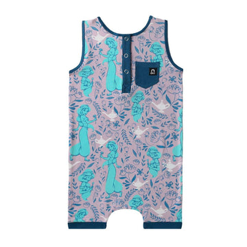 Tank Henley Short Rag - 'Jasmine Floral' - Disney Collection from RAGS