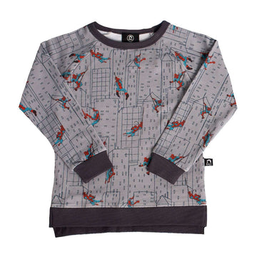 Kids Sweatshirt -  'Spidey Cityscape' - Marvel Collection from RAGS