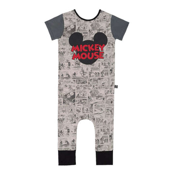 Short Sleeve Rag - 'Mickey Mouse Comic' - Disney Collection from RAGS