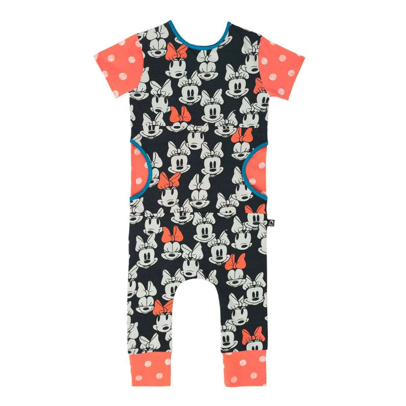 Short Sleeve Peek Pocket Rag - 'All Over Minnie Mouse' - Disney Collection from RAGS