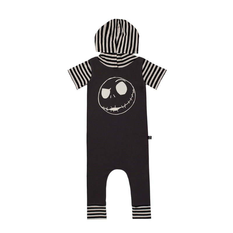 Short Sleeve Hooded Rag - 'Jack Skellington' - Disney Collection from RAGS
