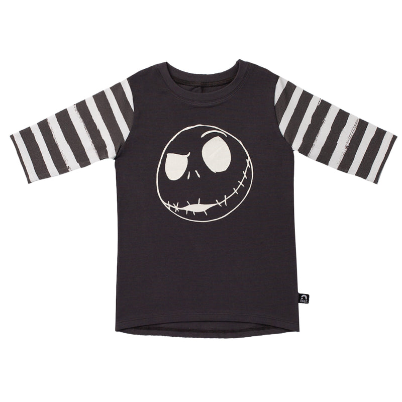 3/4 Sleeve Tee - 'Jack Skellington' - Disney Collection from RAGS