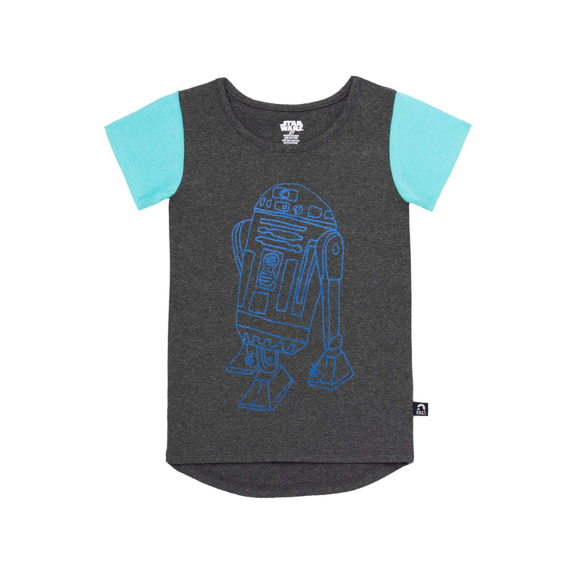 Kids OG Style Tee - 'R2D2' - Star Wars Collection from RAGS