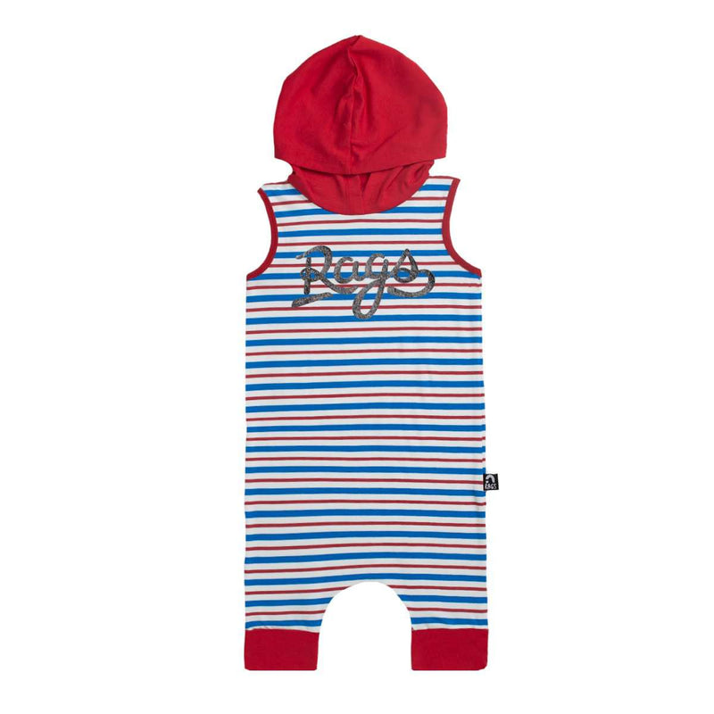 Tank Hooded Capri Rag - 'Patriotic Stripes' - 4th of July