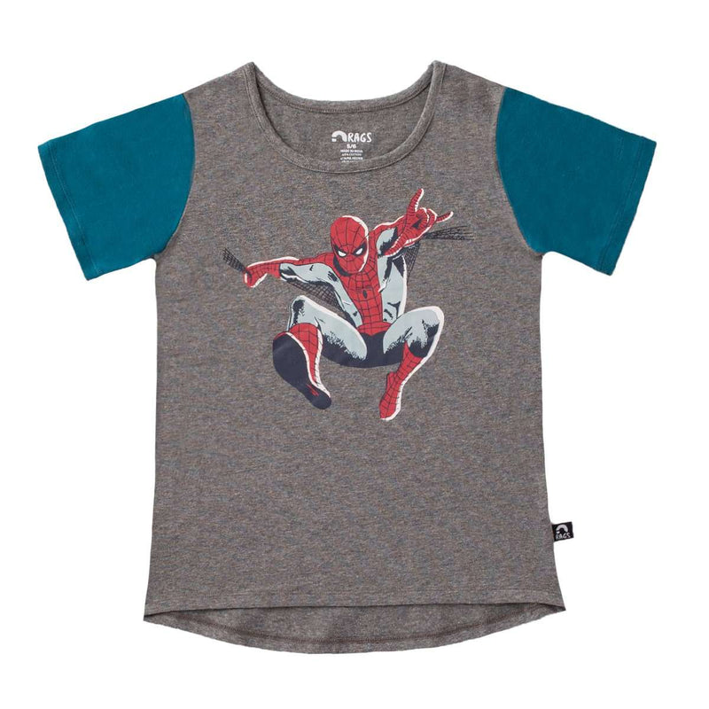 Charcoal Spider-Man T-Shirt