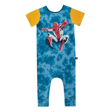 Short Sleeve Rag - 'SpiderMan' - Marvel Collection from Rags - Tie Dye