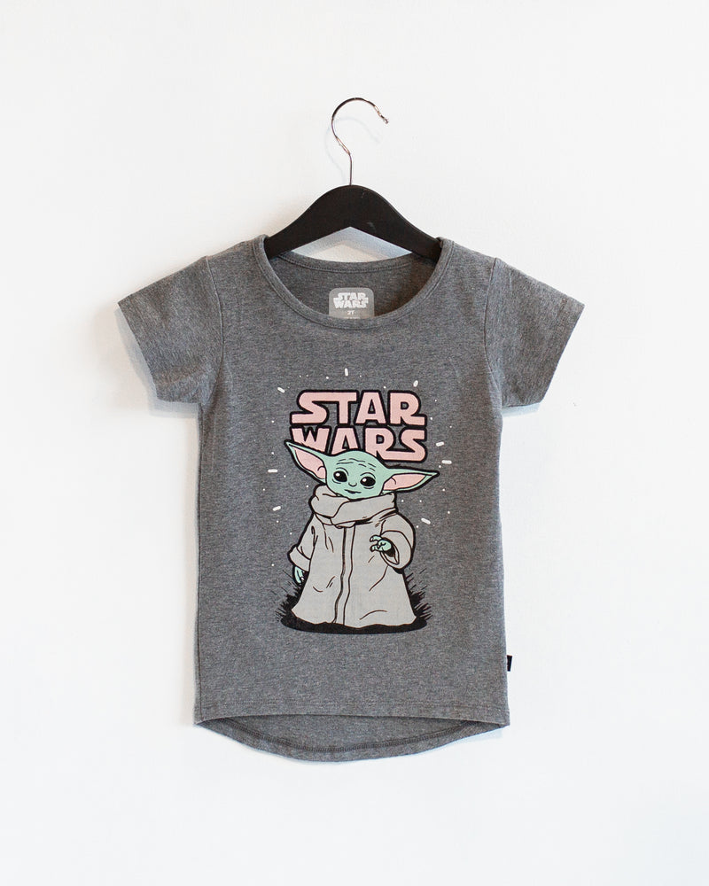 Short Sleeve OG Style Tee - 'The Child' - Star Wars Collection from RAGS - The Mandalorian Baby Yoda - Light Caramel