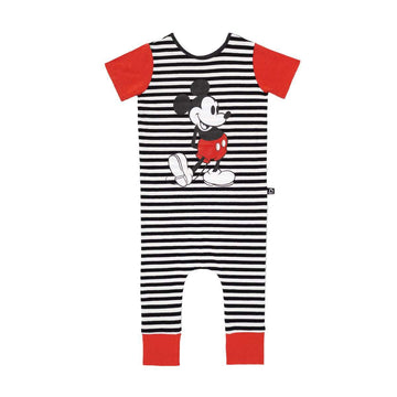 Short Sleeve Rag - 'Stripe Retro Mickey Mouse' - Disney Collection from RAGS
