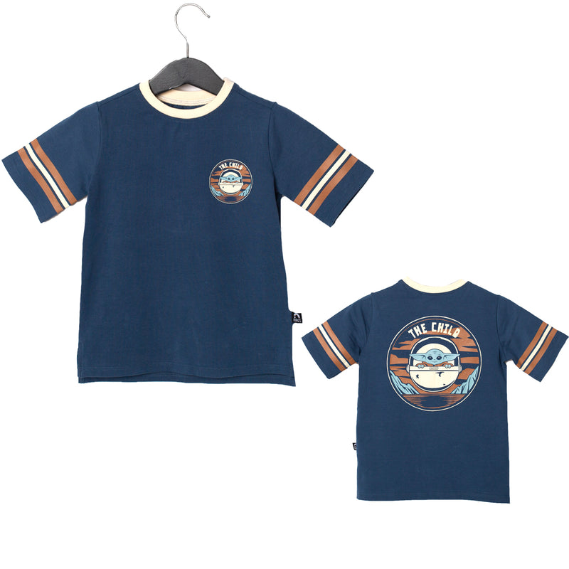 Retro Short Sleeve Kids Tee - 'The Child Double Sided' - Star Wars Collection from RAGS
