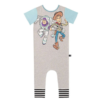 ***PREORDER*** Short Sleeve Rag - 'Vintage Buzz and Woody' - Toy Story Collection from RAGS