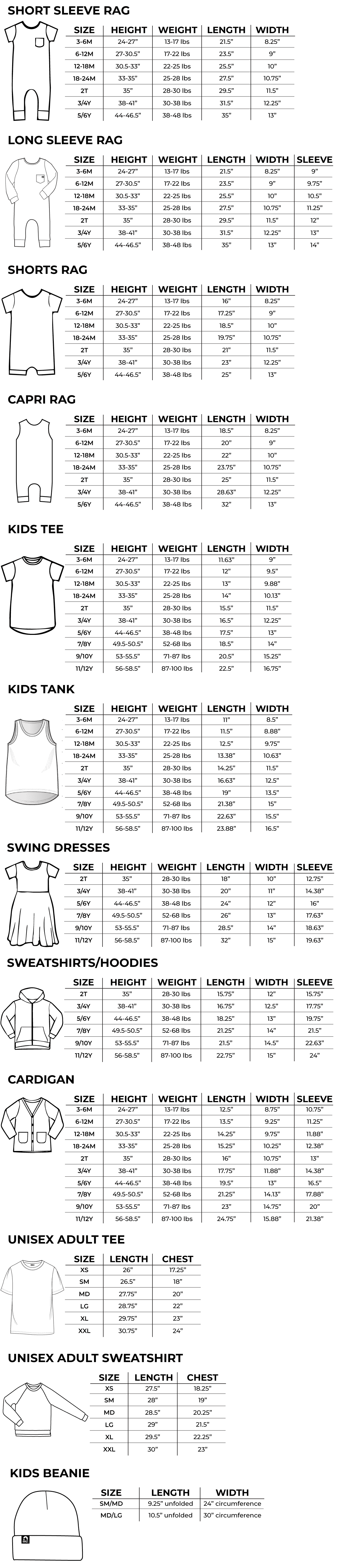 Full Size Guide