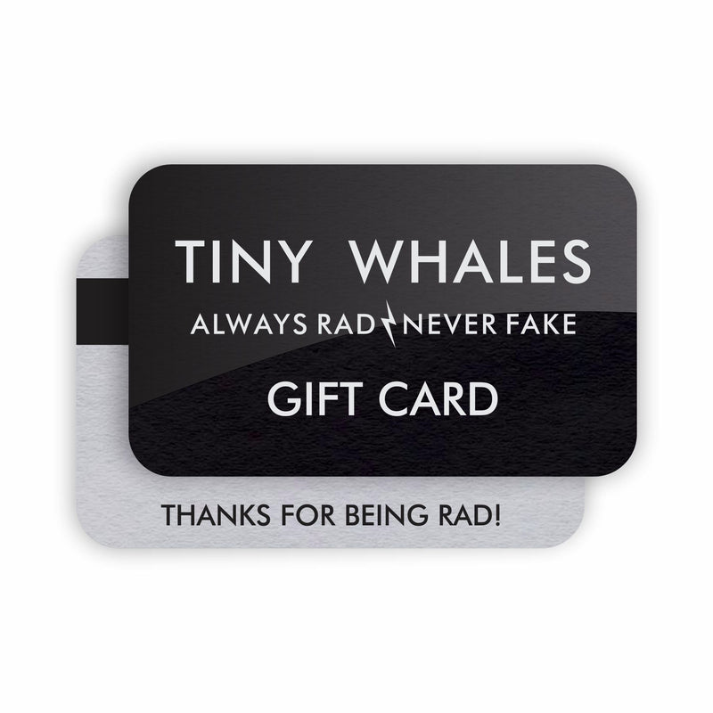 TINYWHALES.COM GIFT CARD