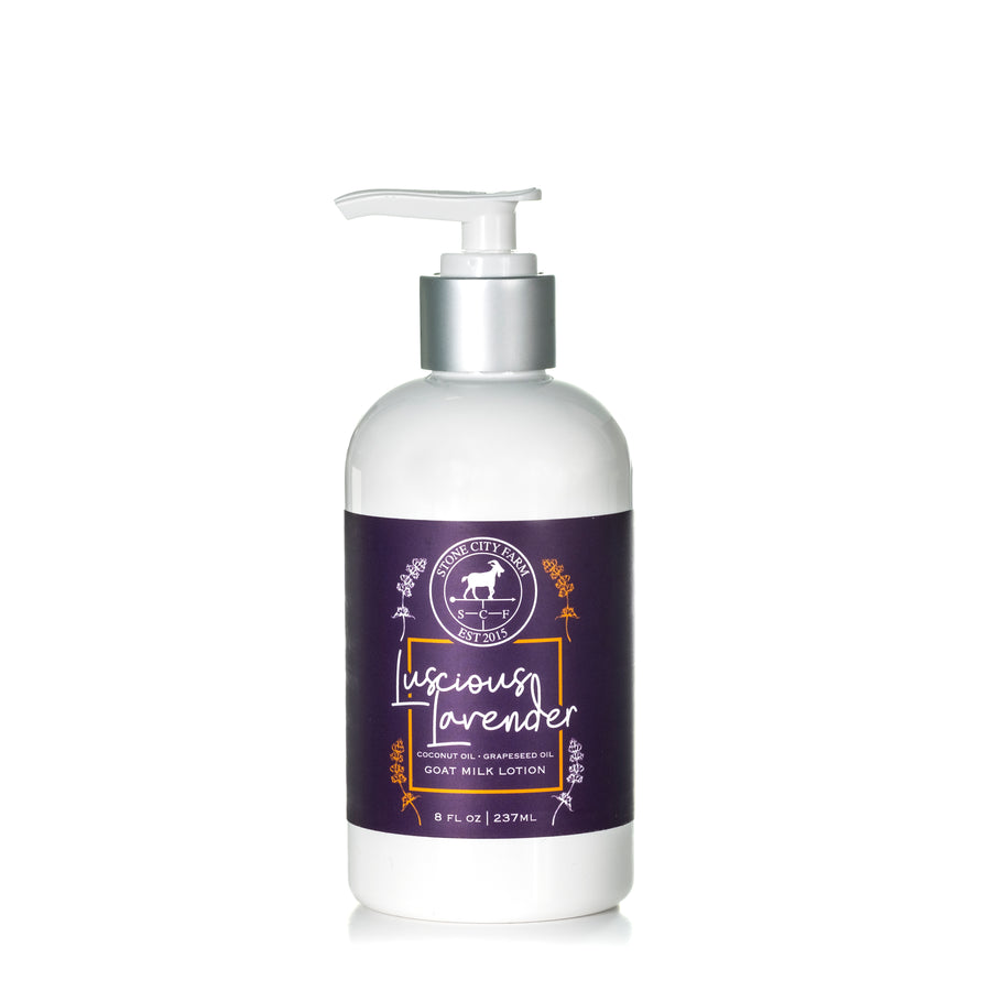 Luscious Lavender Goat Milk Lotion