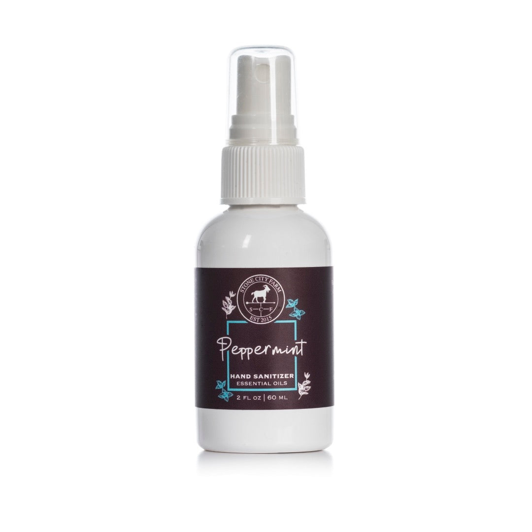 Peppermint Hand Sanitizing Spray