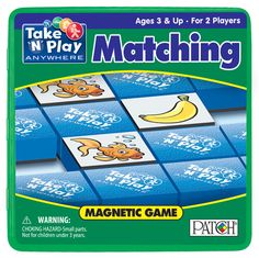 Matching Game Tin