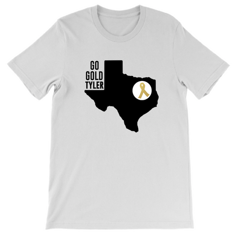 GO GOLD TEXAS (White)