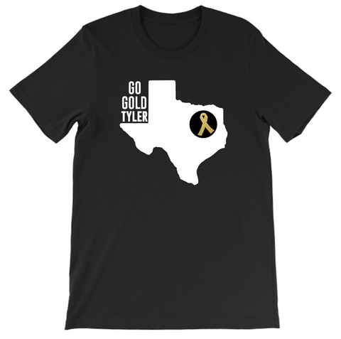 GO GOLD TEXAS (Black)