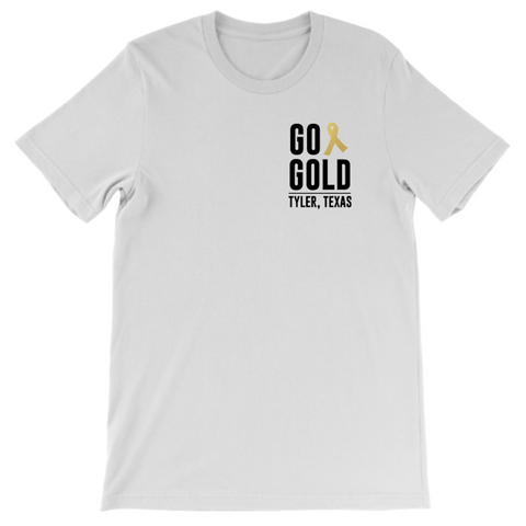GO GOLD TYLER TEXAS (White)