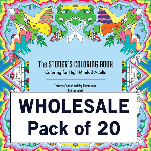 Carton of 20 Stoner's Coloring Books