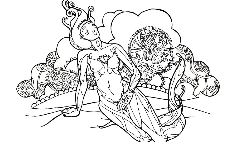 Stoner's Coloring Book – The Stoner's Coloring Book