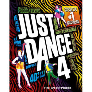 Just Dance 4 - Nintendo Wii U