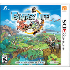 3DS Fantasy Life Role Playing Game