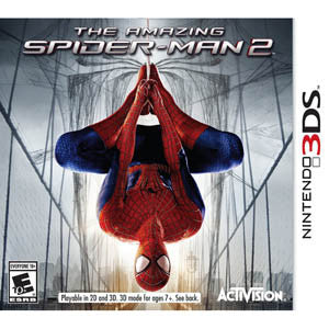 3DS Amazing Spider-Man 2 Action