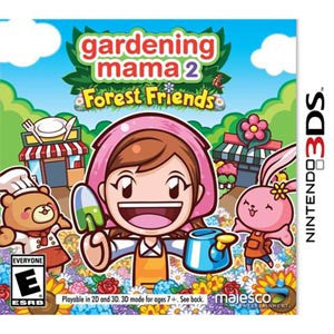 3DS Gardening Mama 2 Forest Friends
