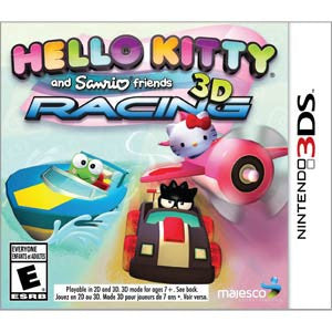 3DS Hello Kitty Sanrio 3DS Racing